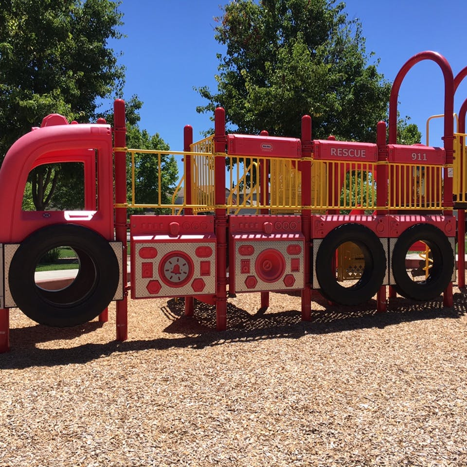 Fire Truck Park in San Ramon, CA