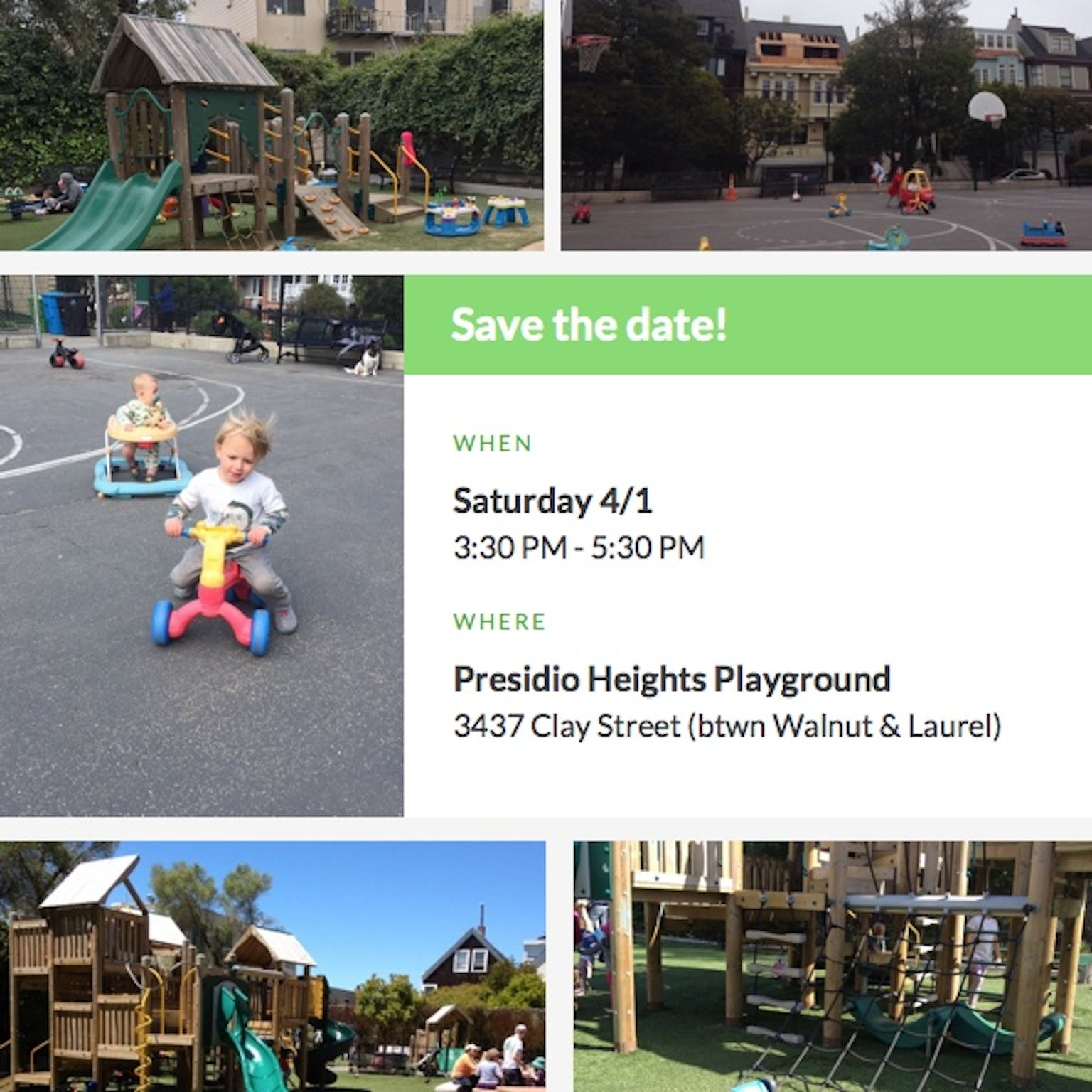 Presidio Heights Playground in San Francisco, CA