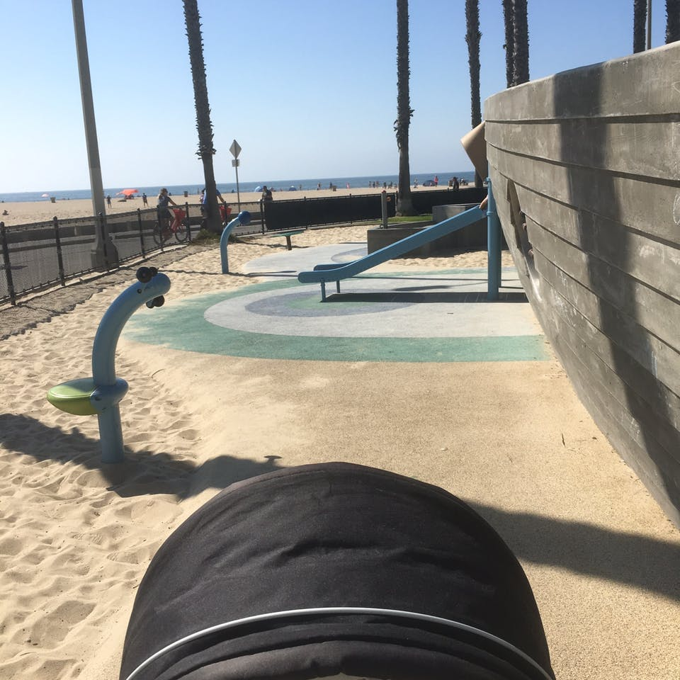 South Beach Park Playground in Santa Monica, CA