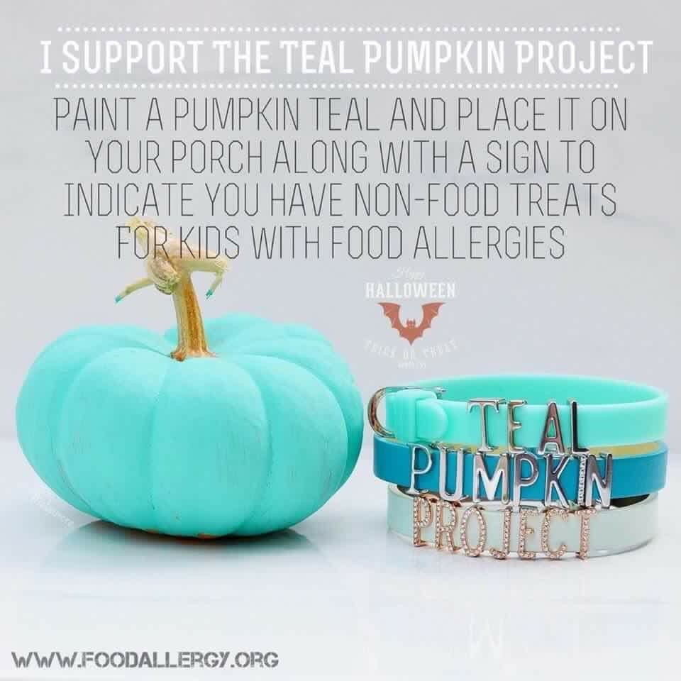 picture regarding Teal Pumpkin Printable known as Incorporate by yourself listened to of the Teal Pumpkin Venture? - Winnie