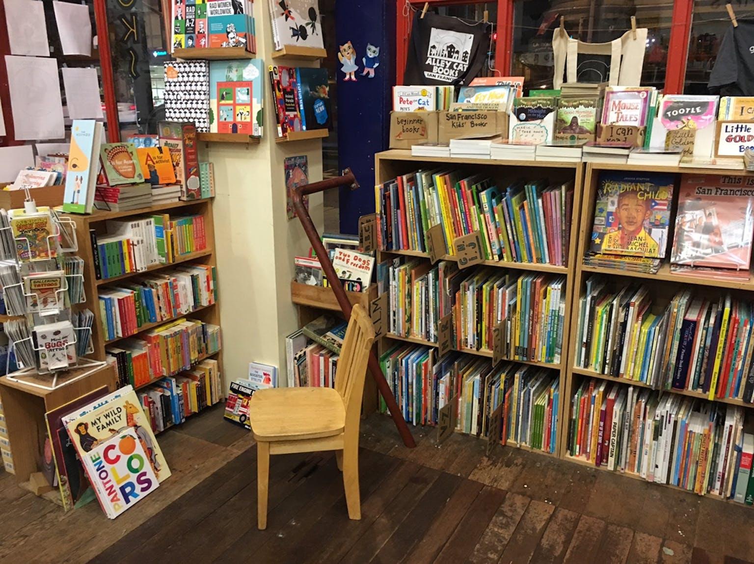 Dog Eared Books in San Francisco, CA