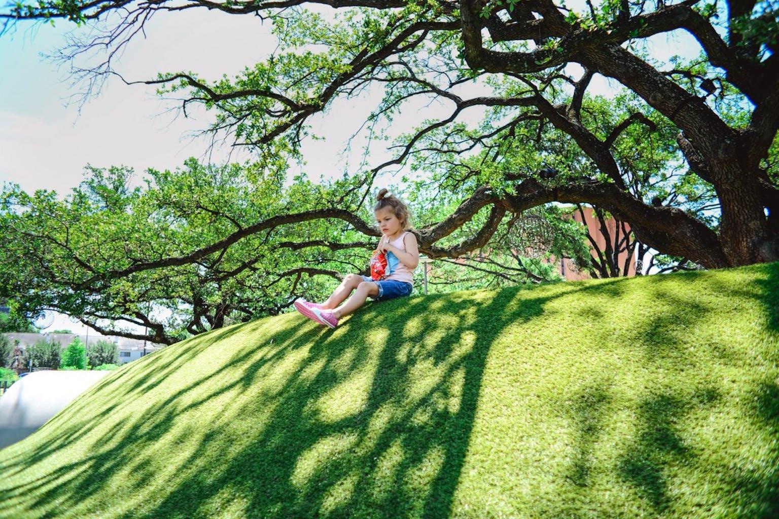 Levy Park in Houston, TX